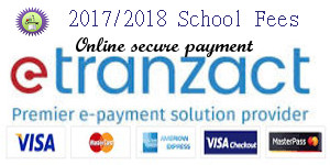 School Fees for 2017/2018 Academic Session