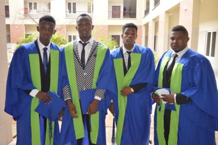 Matriculating Students in their joyful moods