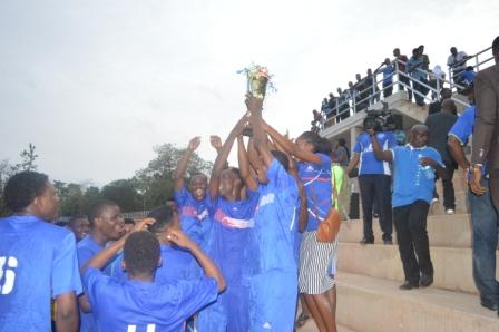 FAMASS football team won the VC cup