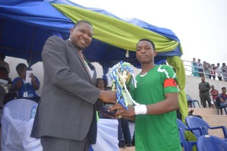 Faculty of Science football team came second