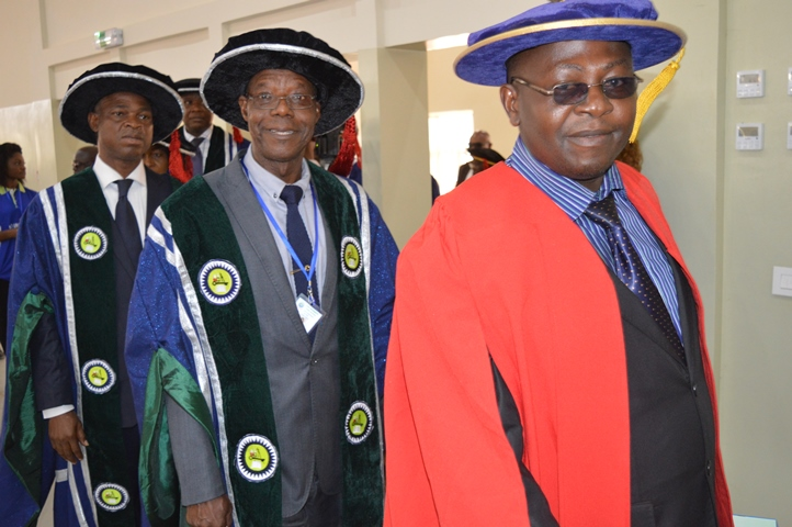 EUI 2015/2016 Academic Procession During the  Maiden Matriculation