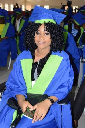 Matriculating Students in their stylish appearance